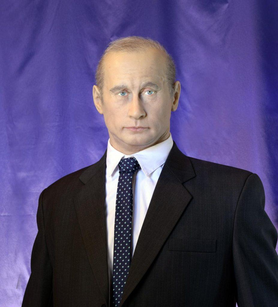 Восковые фигуры на заказ, Путин В.В.