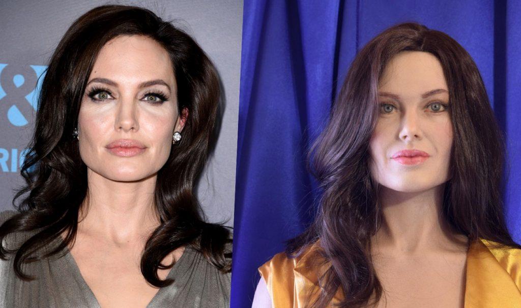 Восковая фигура Джоли