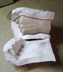 Изготовление рук для восковых фигур