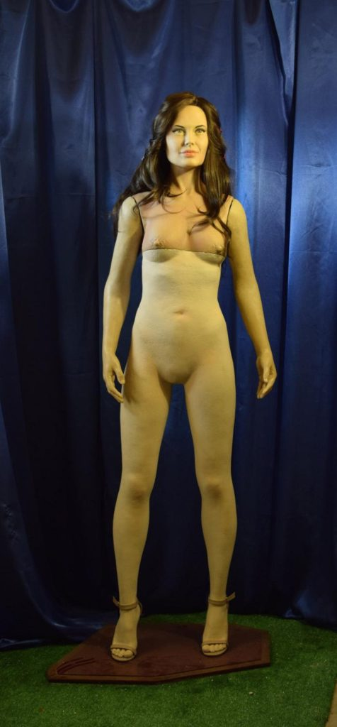 Wax figures of celebrities, Angelina Jolie