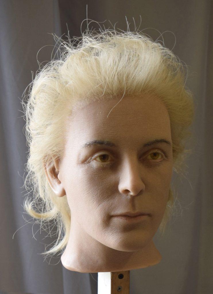 Голова восковой фигуры, Мать Ленина Мария Александровна Ульянова.