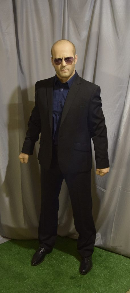 Jason Statham wax figure