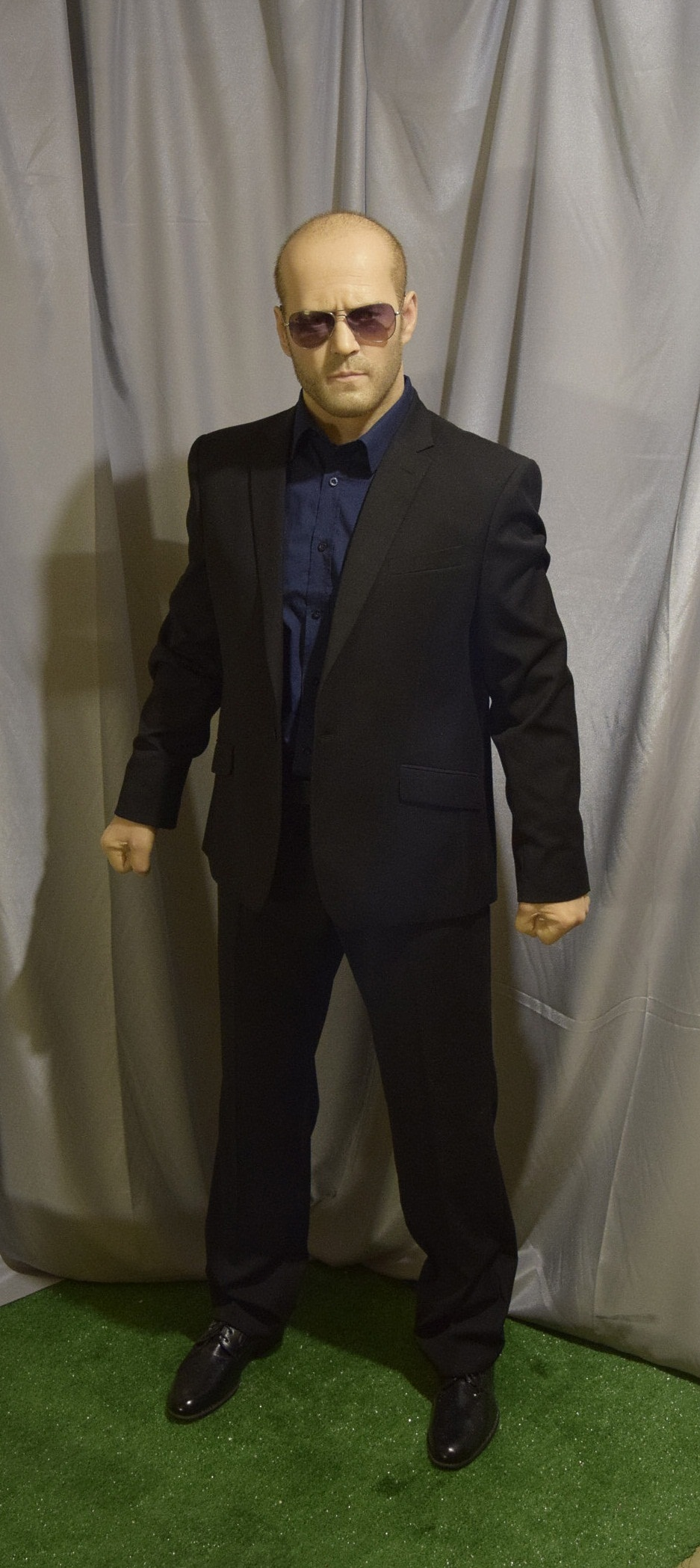 Jason Statham wax figure