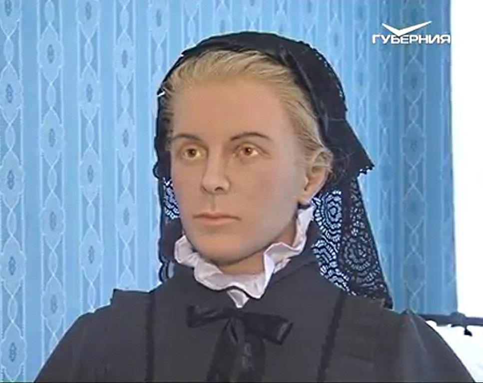 Восковая фигура Марии Александровны Ульяновой в Самаре
