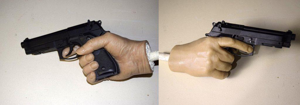 Восковые фигуры, пистолет для Аль Пачино