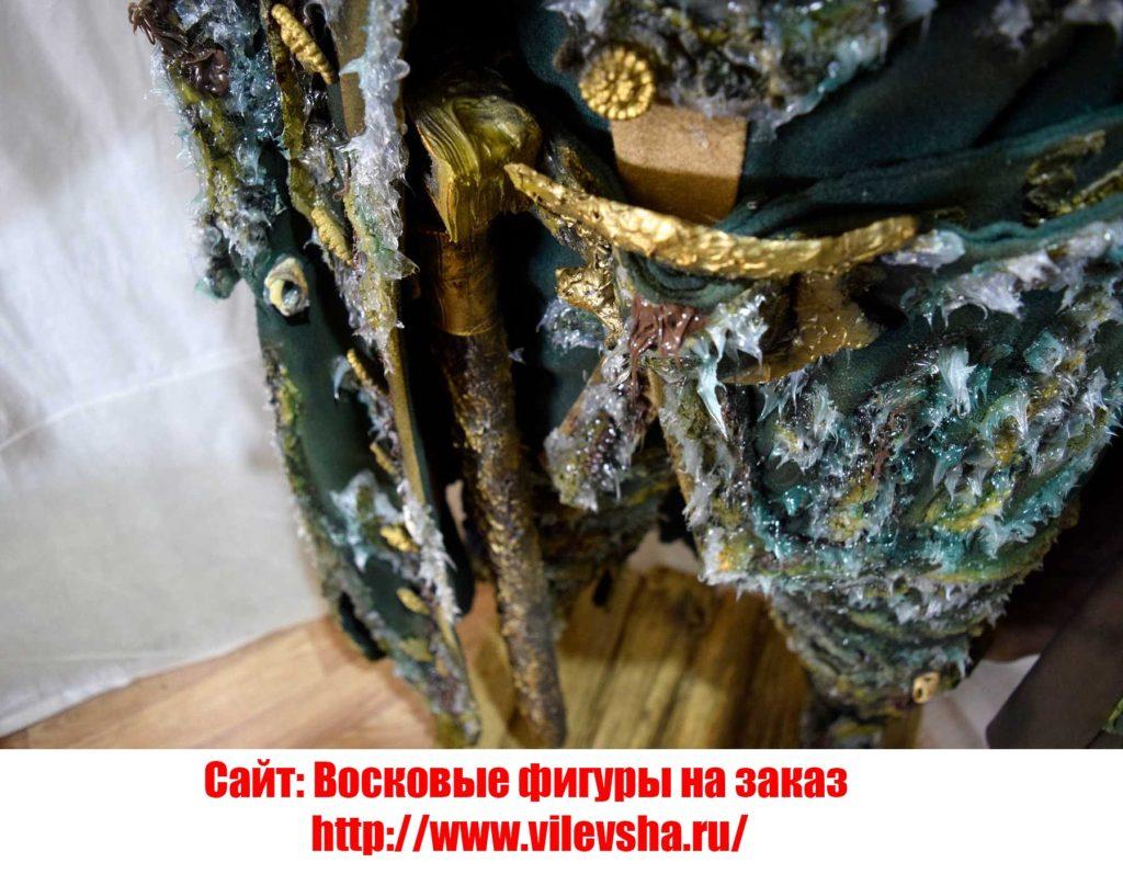 Фрагмент восковой фигуры Деви Джонса