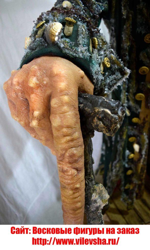 Рука восковой фигуры Деви Джонса