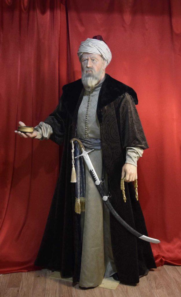 Восковая фигура ХайреддинБарбаросса