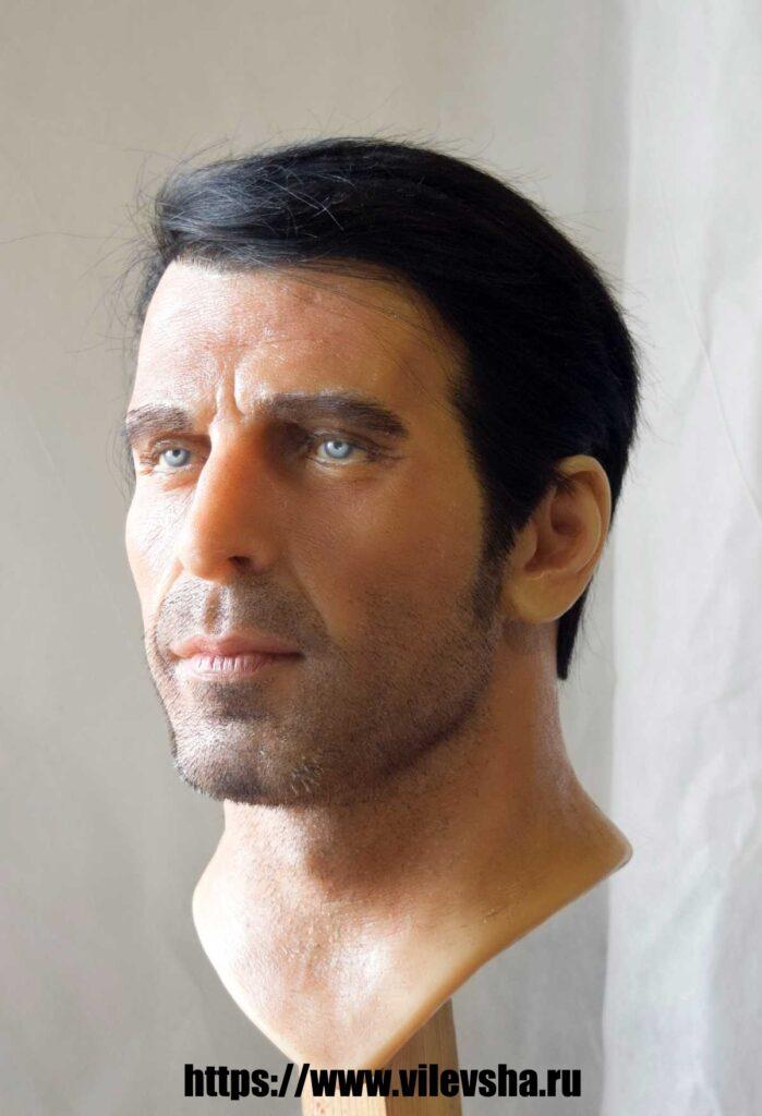 Buffon, full face wax head