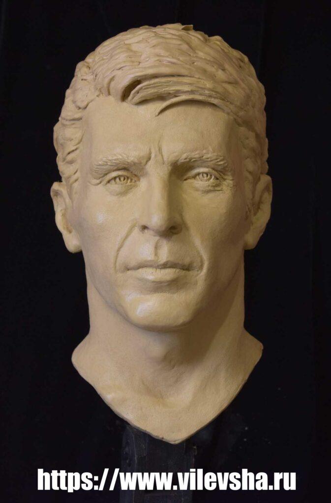 Buffon, plasticine wax head
