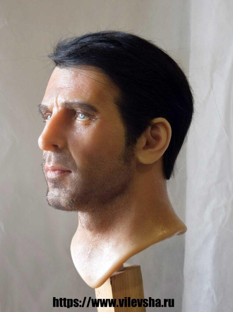 Gianluigi Buffon, голова для восковой фигуры