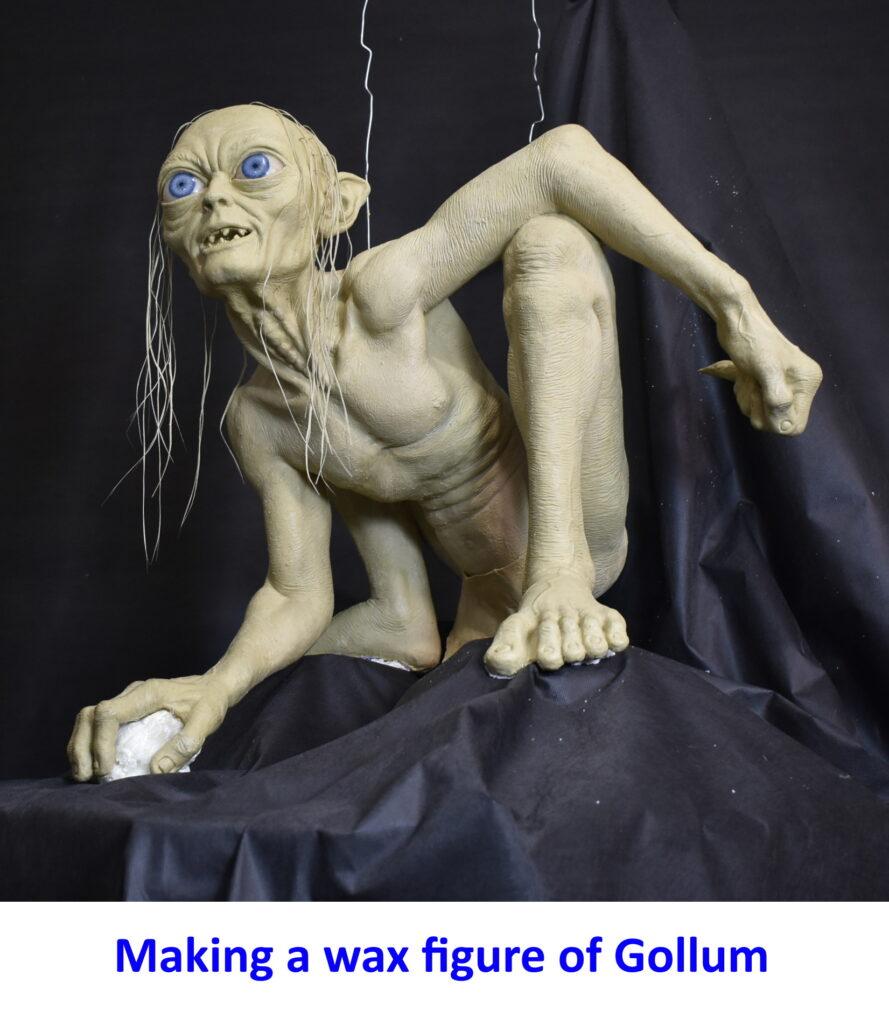 Изготовление восковых фигур , Голлум