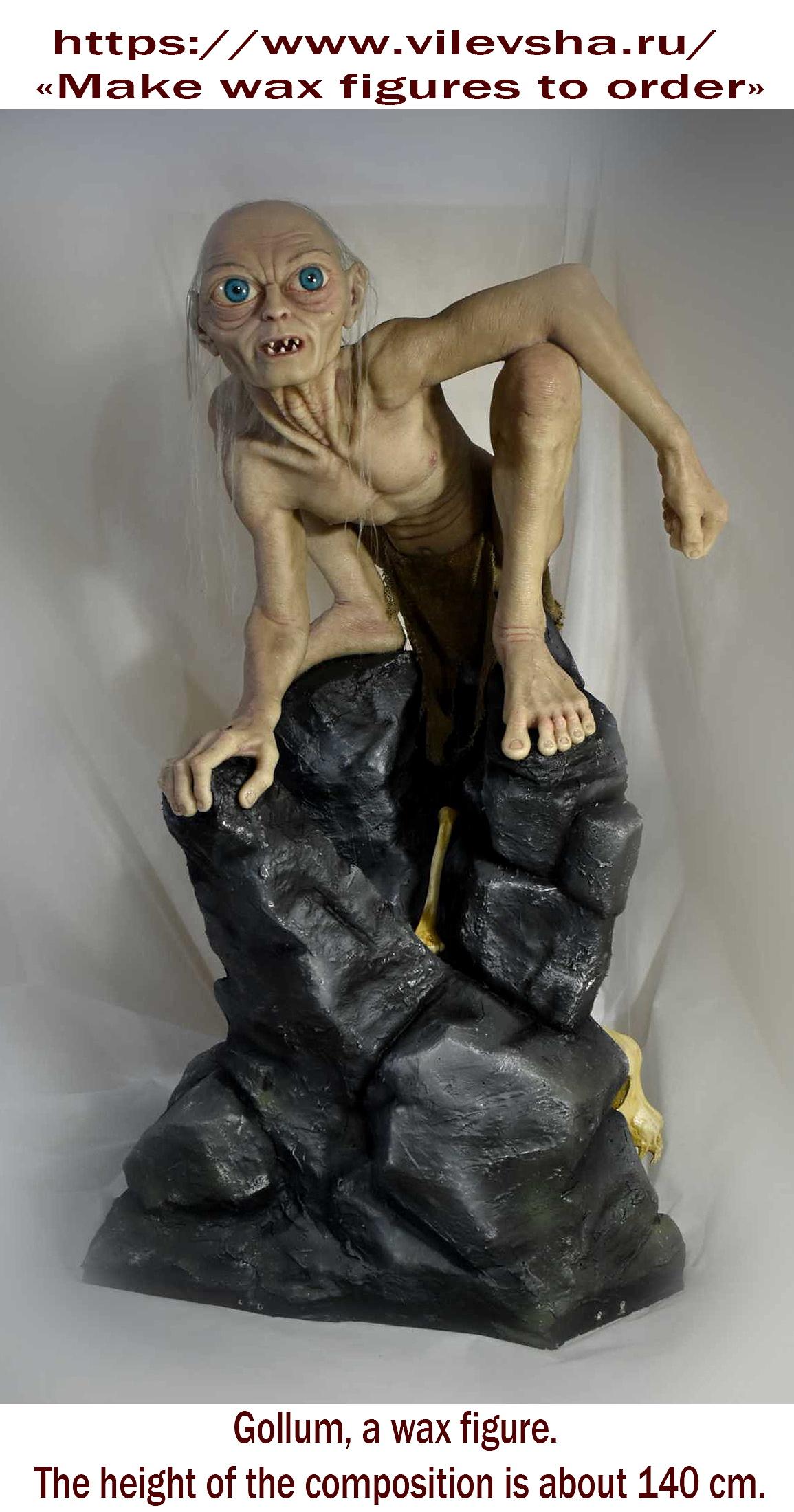 gollum-the-wax-figure
