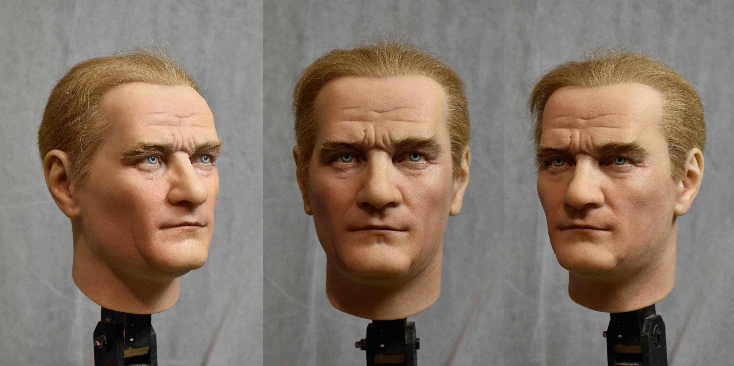 Заказать восковую фигуру, восковая фигура Ататюрка