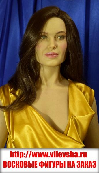 Анджелина Джоли, восковые фигуры на заказ